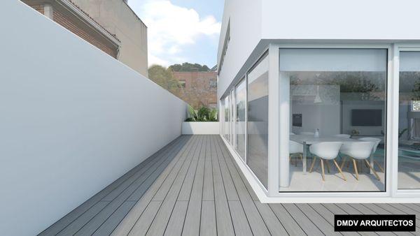 casa pasiva madrid terraza