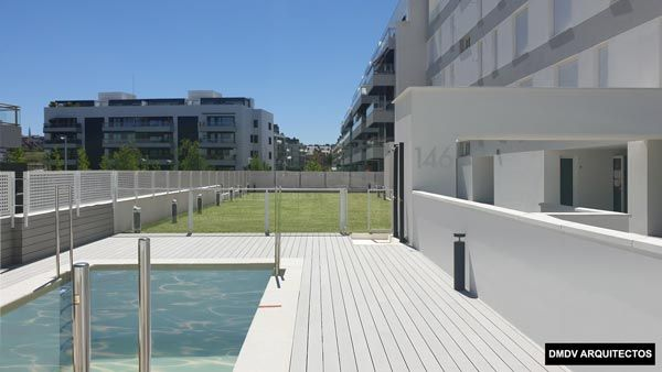 passivehouse plus madrid piscina