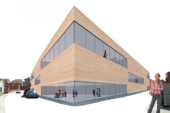 arquitectos centro social madrid