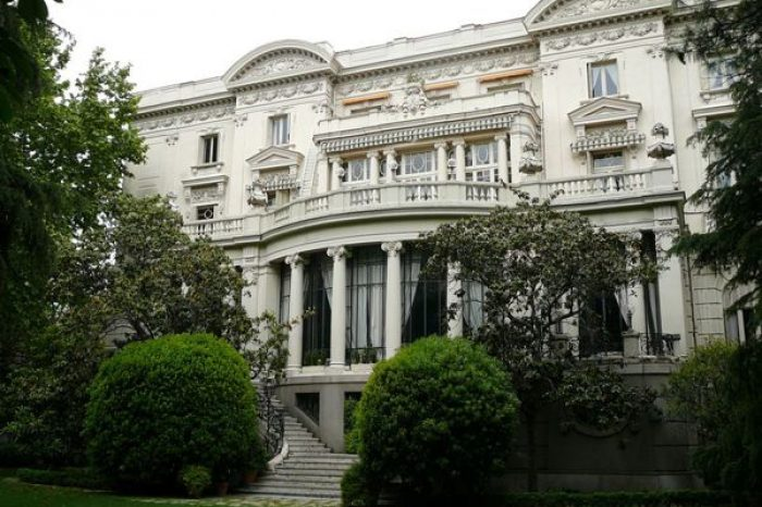 embajada italiana en madrid